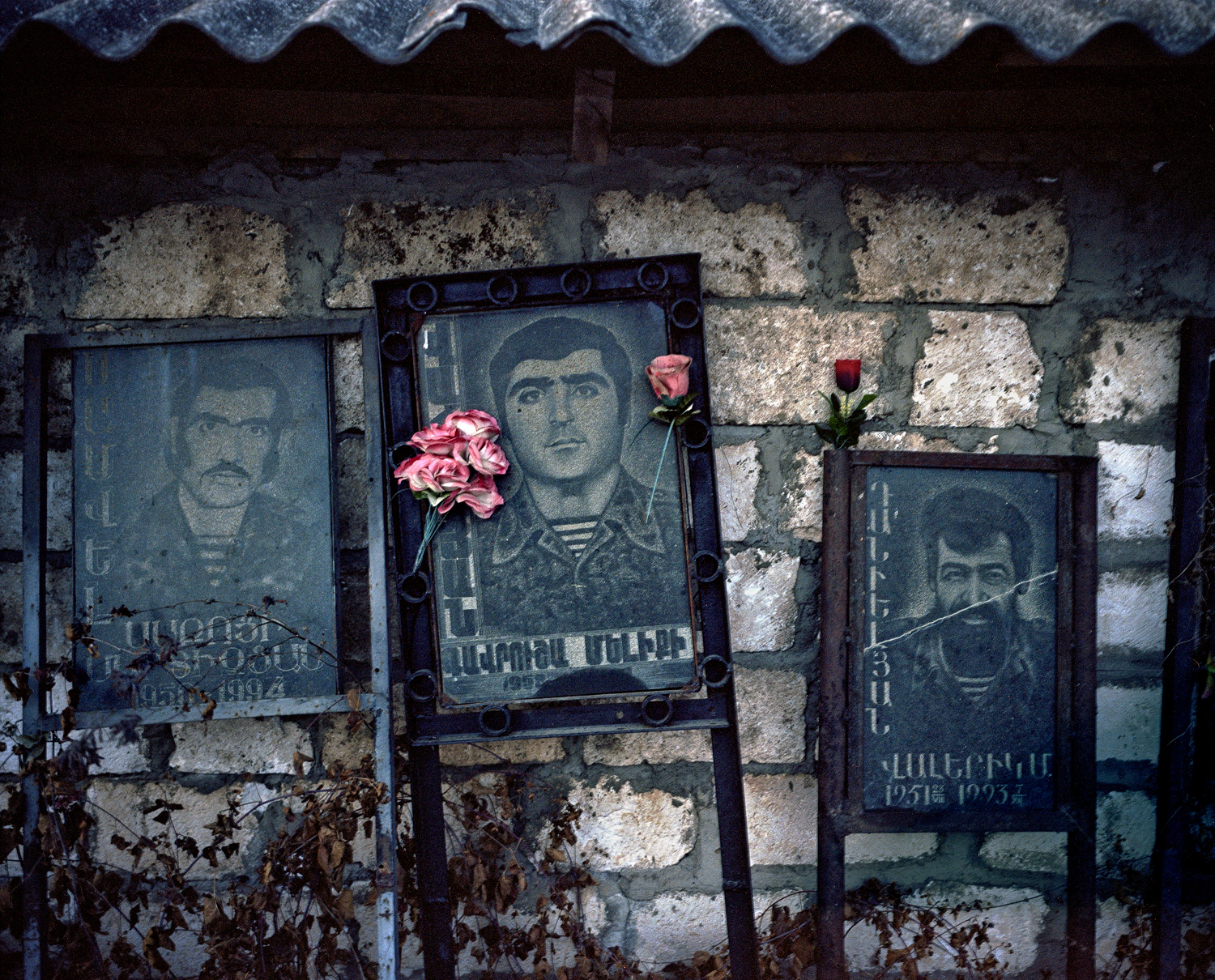 The graves of Armenian victims can be found everywhere in Karabah.